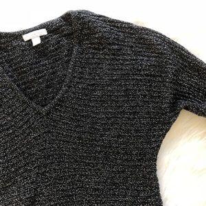 NY & Co | Black & Silver Metallic Threaded Sweater